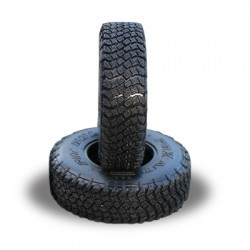 PBX A/T HARDCORE 1.9 SCALE RC TIRES (ALIEN KOMPOUND) W/FOAM - 2pcs