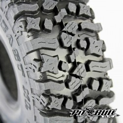 PITBULL - ROCK BEAST XL 1.9 SCALE RC TIRES (ALIEN KOMPOUND) W/FOAM - 2pcs