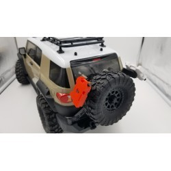 HPI FJ Venture Rear tire mount with rotopax mounts