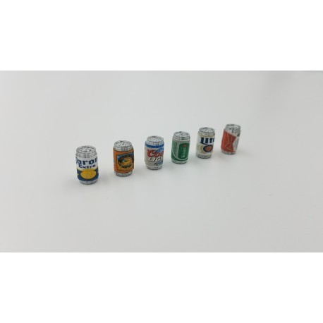 Beer Cans 6Pack